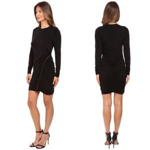 NEW THE KOOPLES SPORT Ruched Jersey Sheath Dress